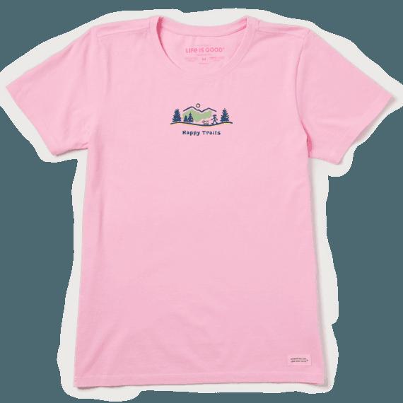 Women's Happy Trails Vista Vintage Crusher Tee