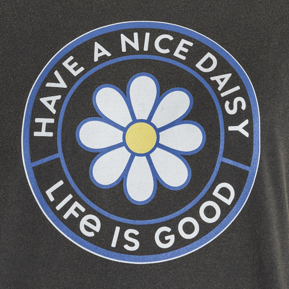 Women's Have a Nice Daisy Coin Boxy Crusher Tee