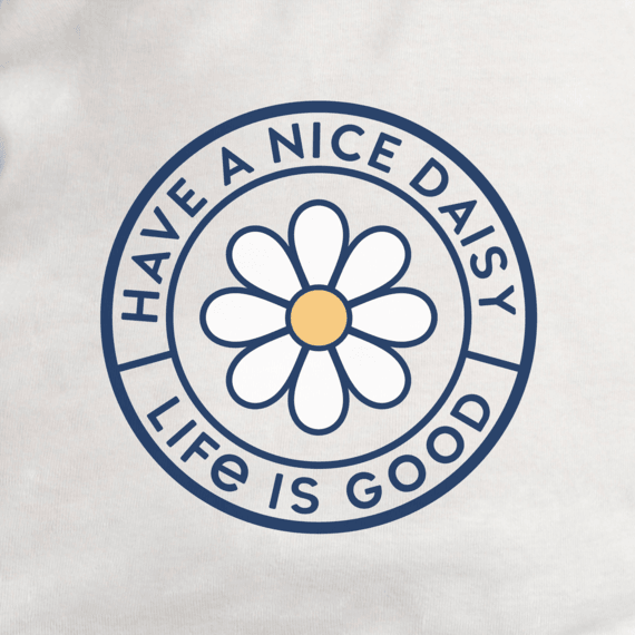 Women's Have a Nice Daisy Coin Soft & Simple Fitted Tank