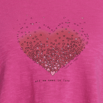 Women's Heart Love Breezy Tank