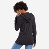Women's Heart Love Hooded Smooth Tee