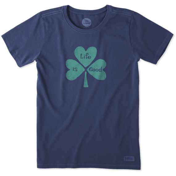 Women's Hearts Clover Crusher Tee