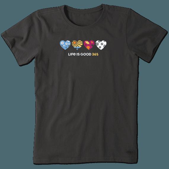 Women's Hearts Crusher Tee
