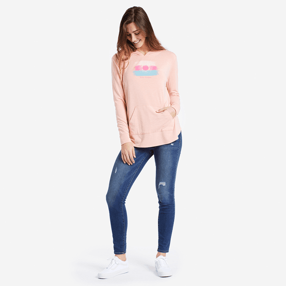 Women's Hello Sunshine Supreme Hooded Pullover