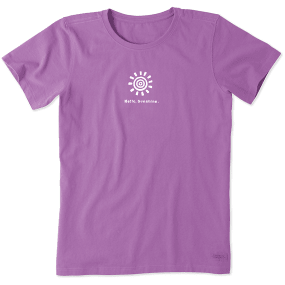 32bfdff74 Women's Hello Sunshine Vintage Crusher Tee | Life is Good® Official Site