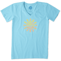 Women's Here Comes The Sun Crusher Vee