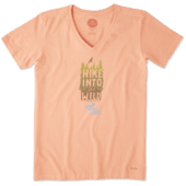 Women's Hike Into The Wild Crusher Vee