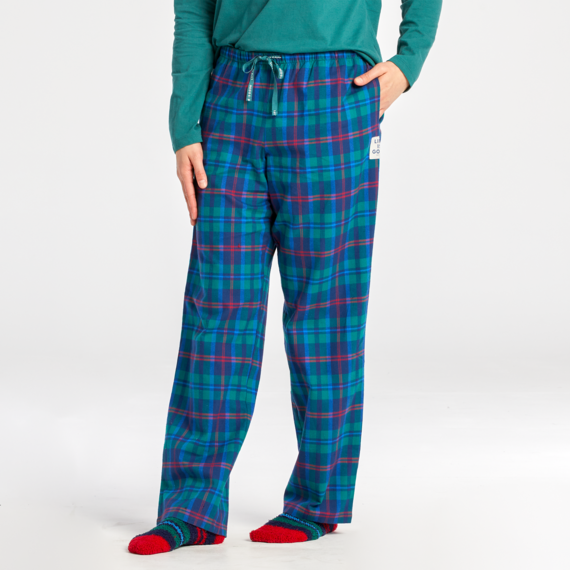 Women's Holiday Plaid Classic Sleep Pant