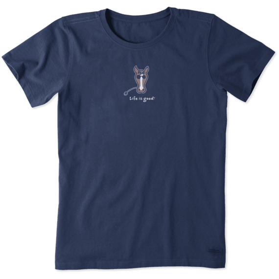 Women's Horse Vintage Crusher Tee