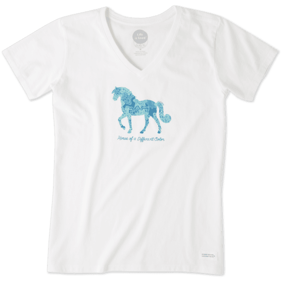 Women's Horse of a Different Color Crusher Vee