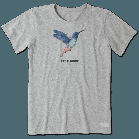 Women's Hummingbird Engraved Crusher Tee