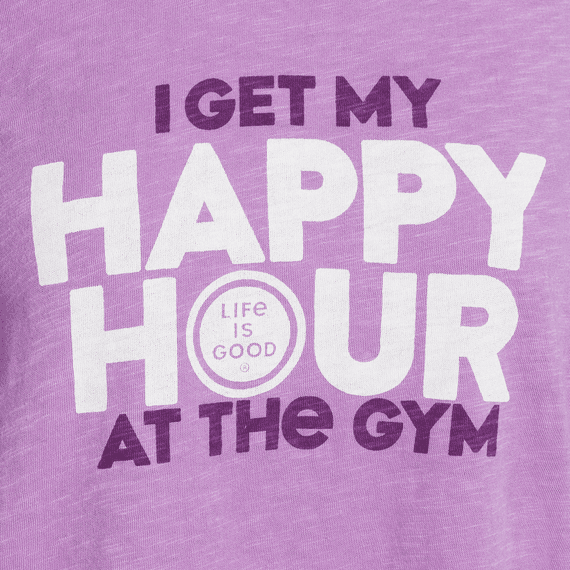 Women's I Get My Happy Hour Breezy Tank