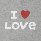 Women's I Heart Love Crusher Vee