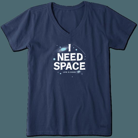 Women's I Need Space Crusher Vee