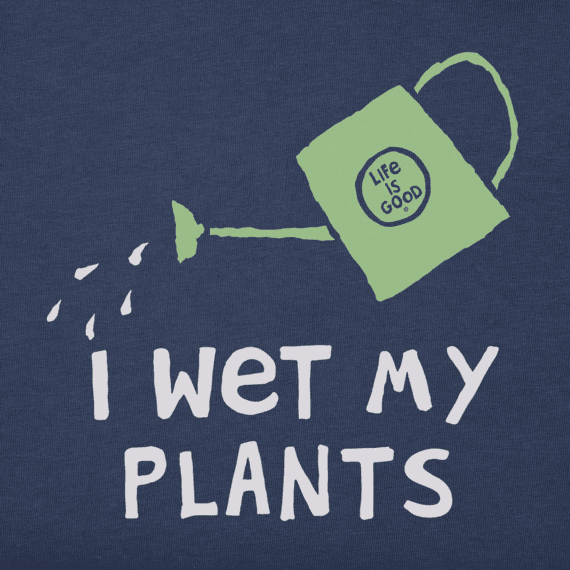 Women's I Wet My Plants Crusher Tee