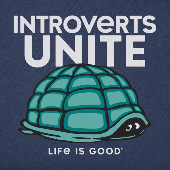 Women's Introverts Unite Crusher Tee