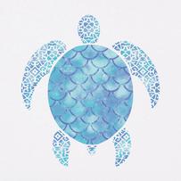 Women's Iridescent Turtle Short Sleeve Tee