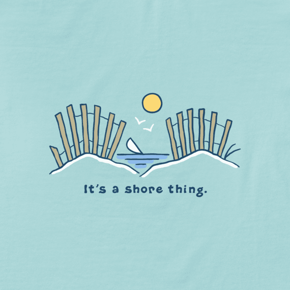 Women's It's a Shore Thing Vintage Crusher Tee