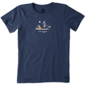 Women's Jackie And Rocket Paddleboard Vintage Crusher Tee
