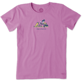 Women's Jackie And Rocket Play In The Dirt Vintage Crusher Tee