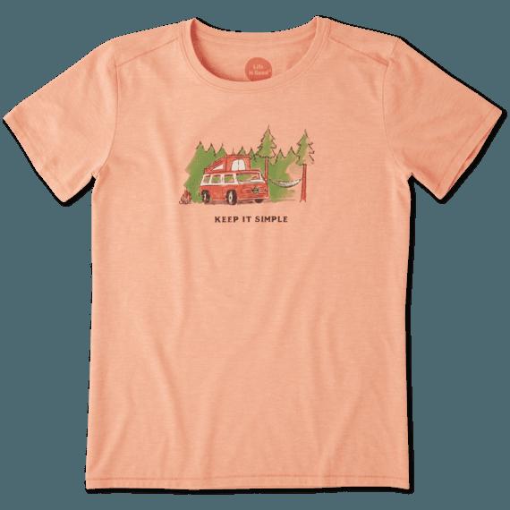Women's Keep It Simple Camper Cool Tee
