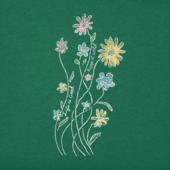 Women's Keep It Wildflowers Long Sleeve Crusher Vee