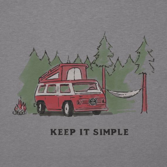 Womens Keep It Simple Camper Cool Vee