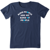 Women's Kind People Crusher Tee