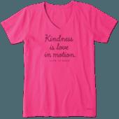Women's Kindness In Motion Crusher Vee