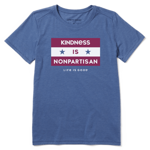 Women's Kindness is Nonpartisan Cool Tee