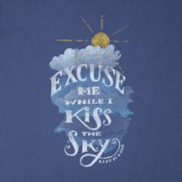 Women's Kiss The Sky Long Sleeve Crusher Tee