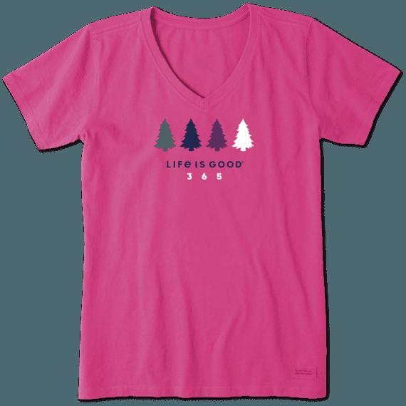 Women's LIG 365 Trees Crusher Vee
