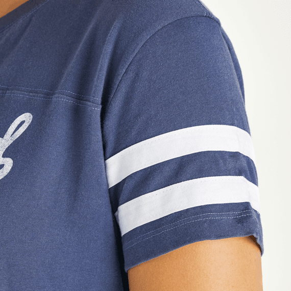 Women's LIG Ballyard Script Crusher Tee Dress