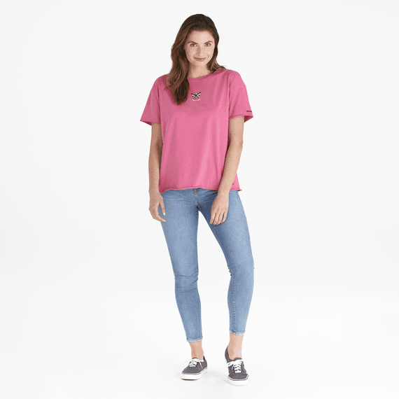 Women's LIG Bee Ex-Boyfriend Crusher Tee