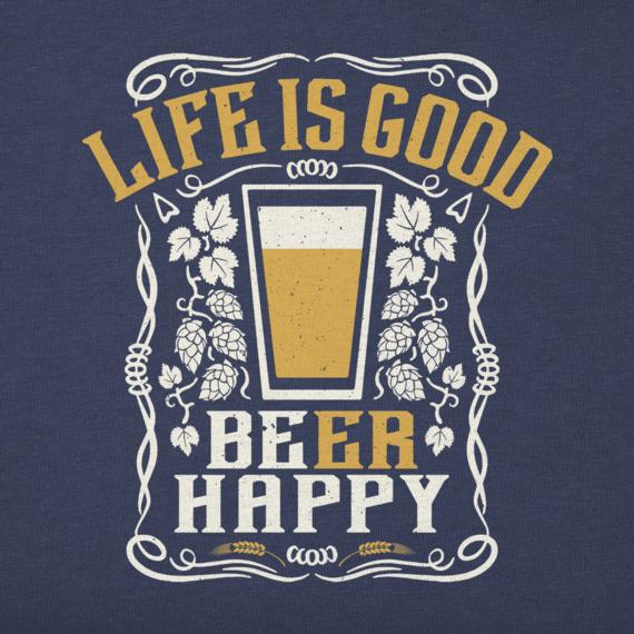 Women's LIG Beer Happy Crusher Vee