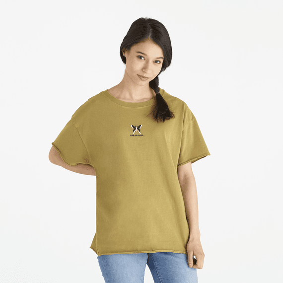 Women's LIG Butterfly Ex-Boyfriend Crusher Tee