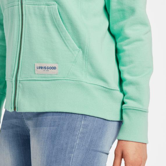 Women's LIG Daisy Simply True Zip Fleece Hoodie