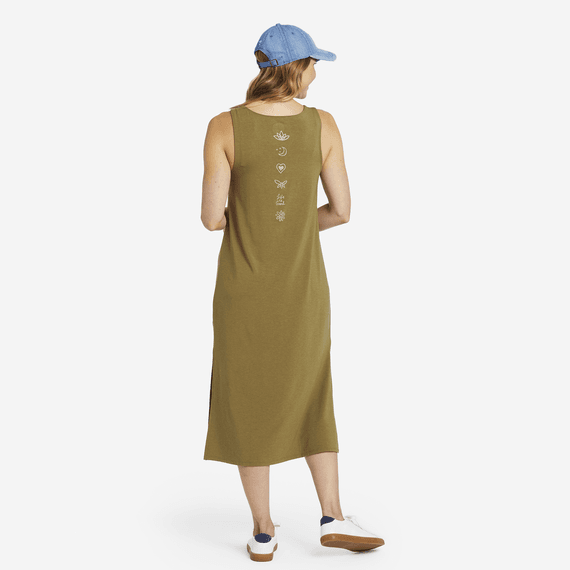 Women's LIG Elements Supreme Blend Midi Dress