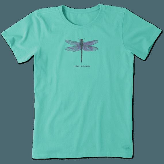 Women's LIG Engraved Dragonfly Crusher Tee