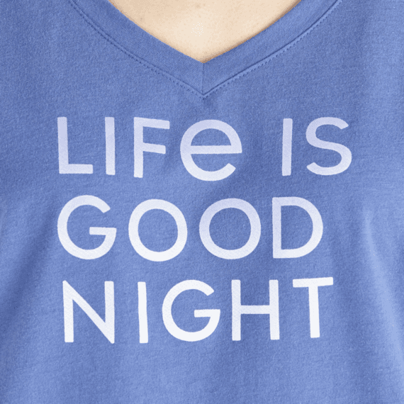 Women's LIG Good Night Snuggle Up Sleep Vee