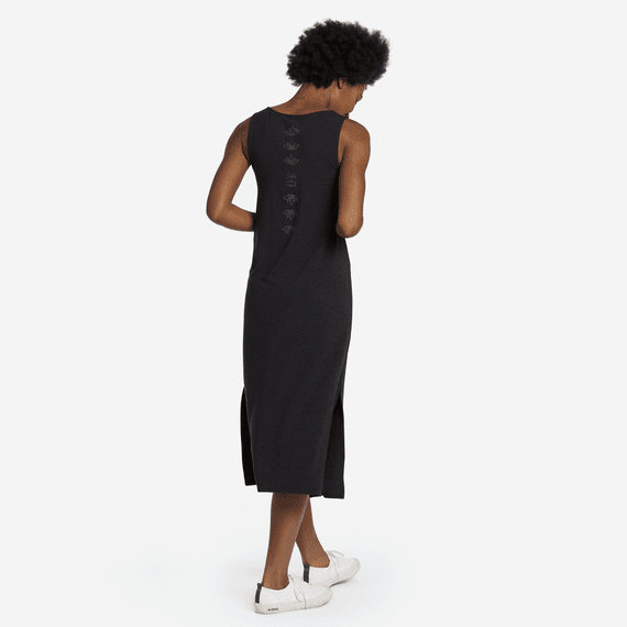 Women's LIG Lotus Supreme Blend Midi Dress