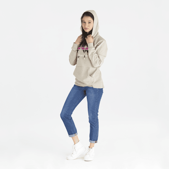 Women's LIG Mountain Vibes Simply True Hoodie