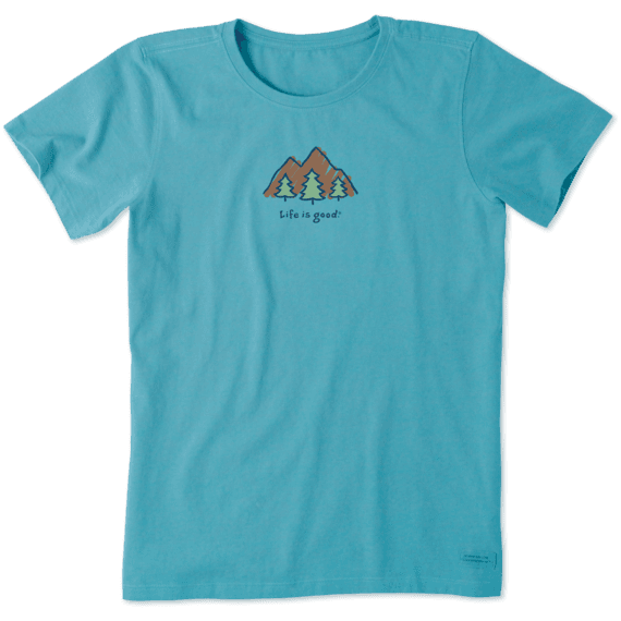 Women's LIG Mountains Vintage Crusher Tee