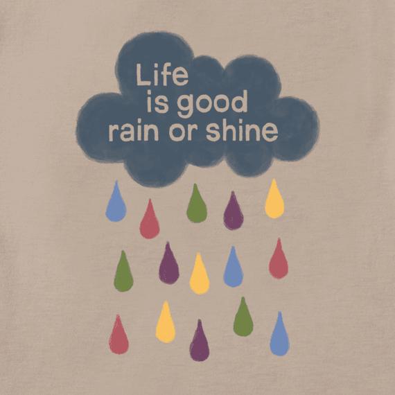 Women's LIG Rain or Shine Long Sleeve Crusher Tee