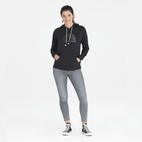 Women's LIG Rainbow Simply True Hoodie