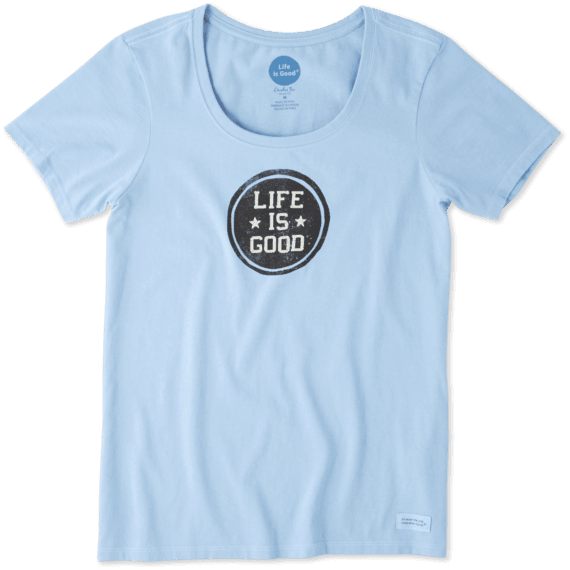 Women's LIG Stamp Crusher Scoop Neck Tee