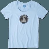 Women's LIG Stamp Crusher Scoop Neck Tee
