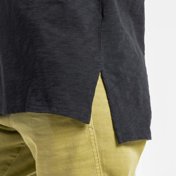 Women's LIG Stars Short Sleeve Textured Slub Tunic