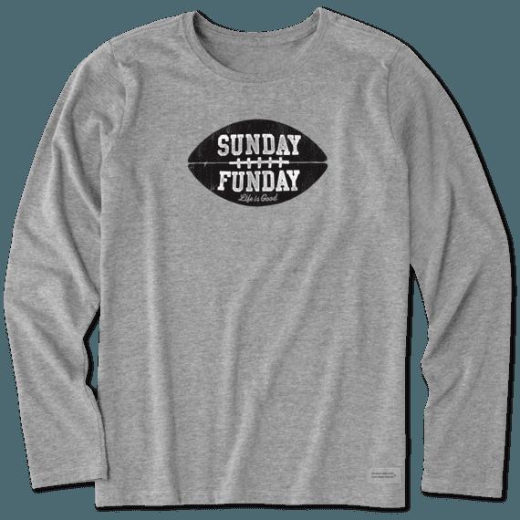 Women's LIG Sunday Funday Long Sleeve Crusher Tee