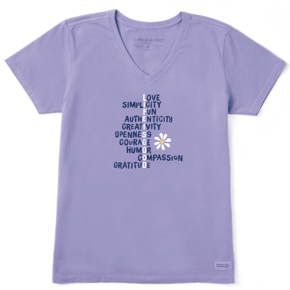 Women's LIG Superpowers Crusher Vee